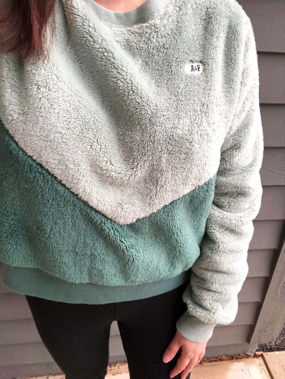 Two-Toned Green Sherpa 9