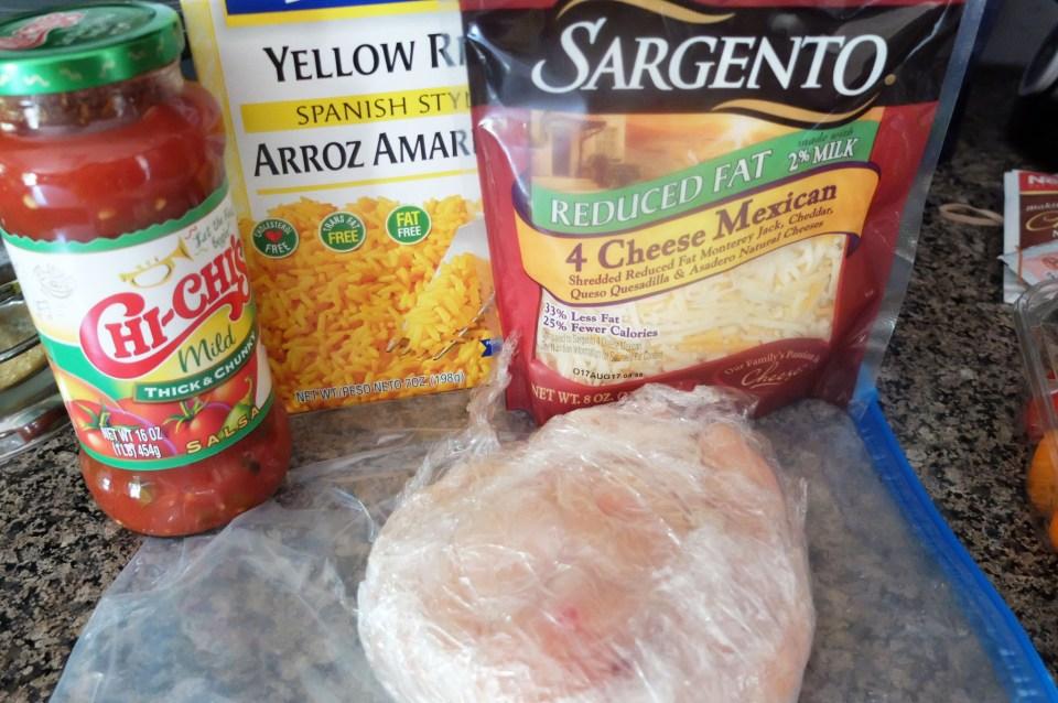 Cheesy Salsa Chicken