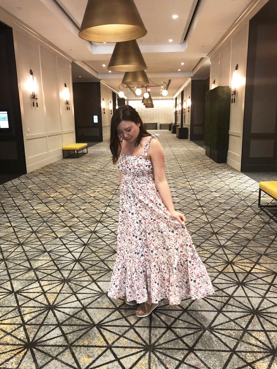 Floral Tiered Maxi Dress 4
