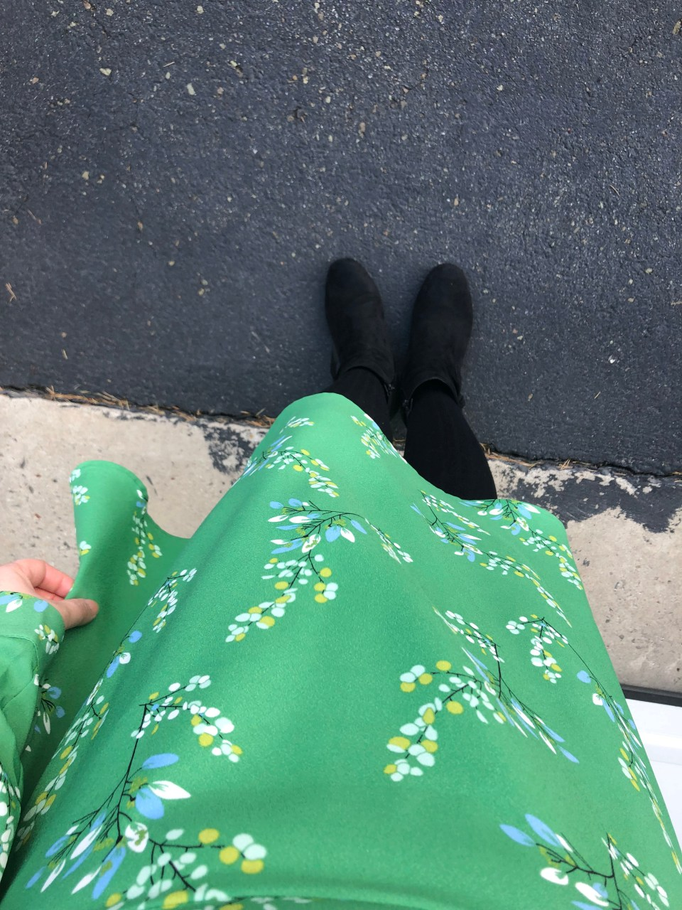 Flower Branch Dress 12