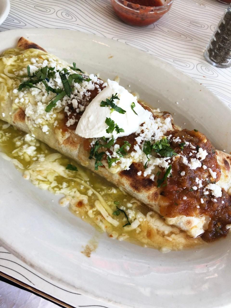Pure Taqueria - Burrito Ahogado