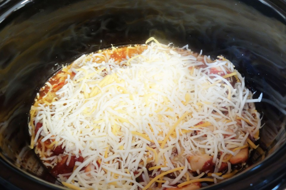 Slow Cooker Cheesy Salsa Chicken 3