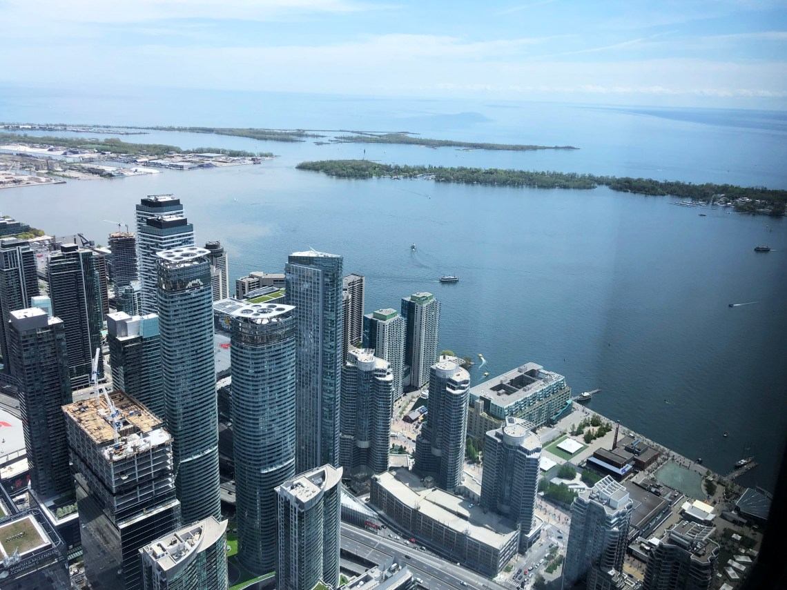 CN Tower - view