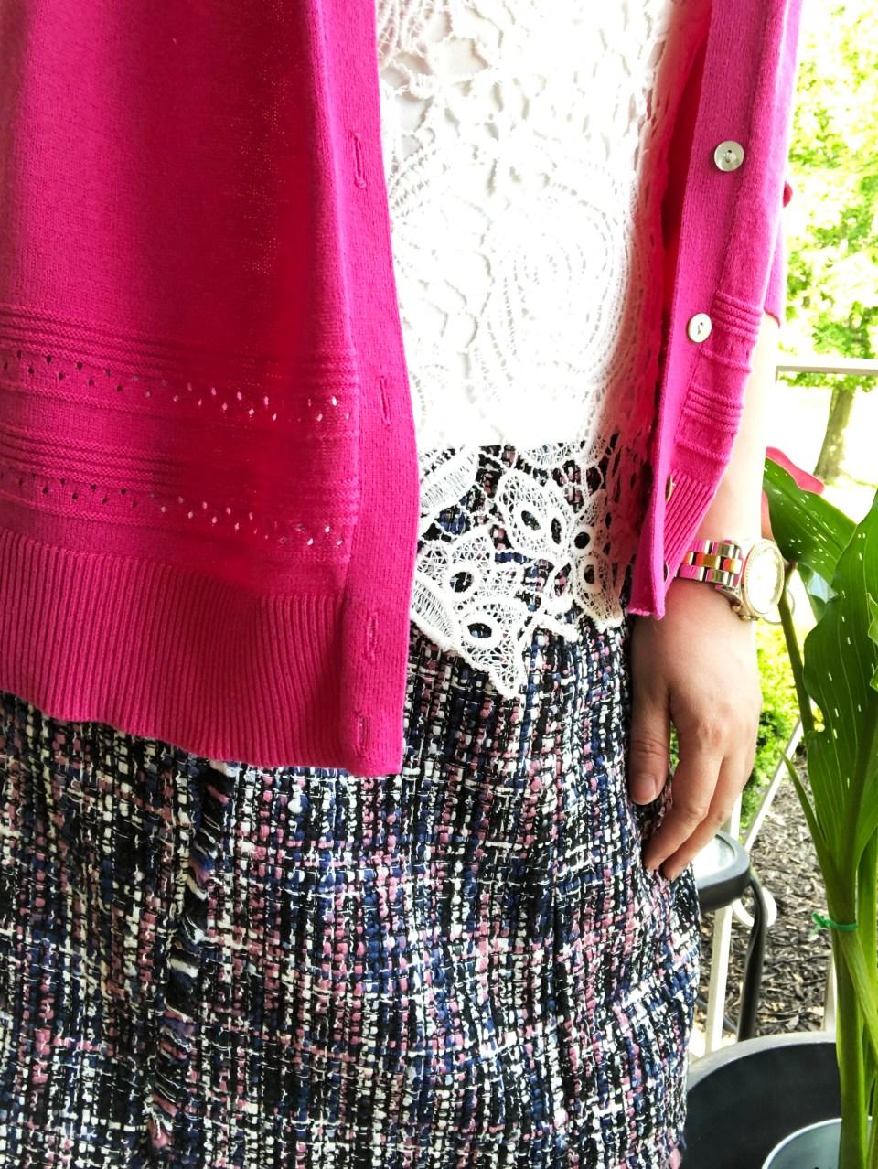 Faux Wrap Skirt 15