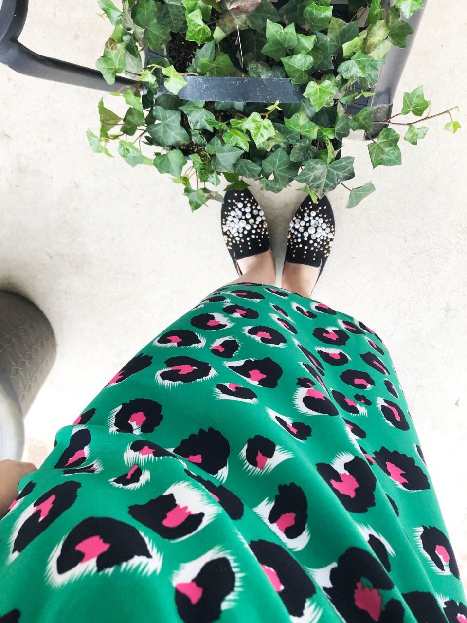 Green & Pink Leopard Print 10