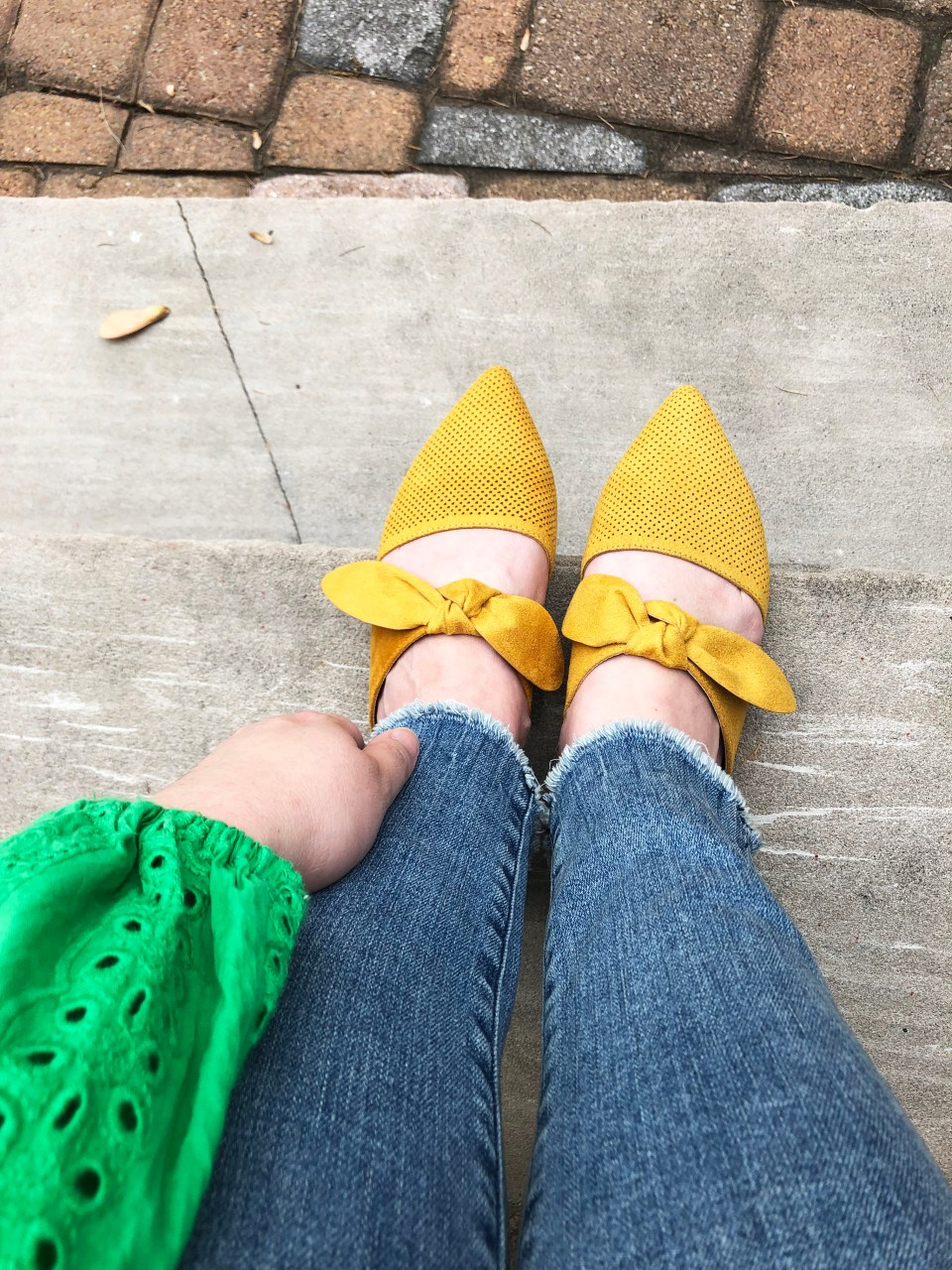 Mustard Yellow Mules 2