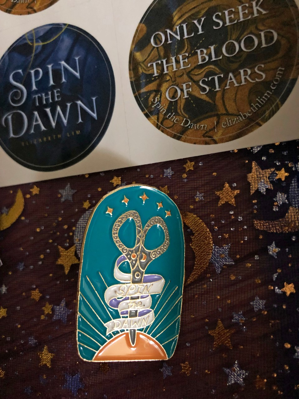 Spin the Dawn - Sip & Sew 18