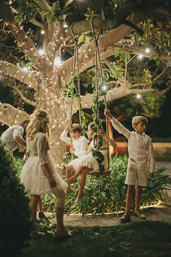 secret garden - swing