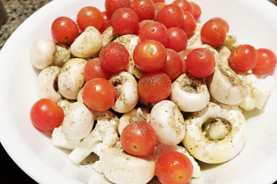 Italian Roasted Vegetables 1