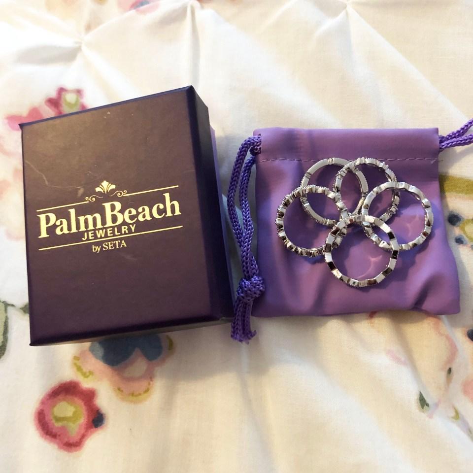 PalmBeach Jewelry - Eternity Ring Stack