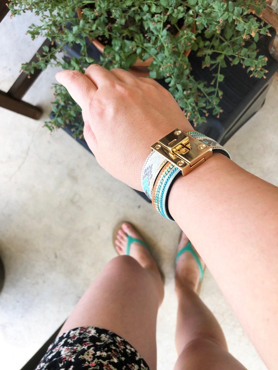 Turnlock Cuff Bracelet 1