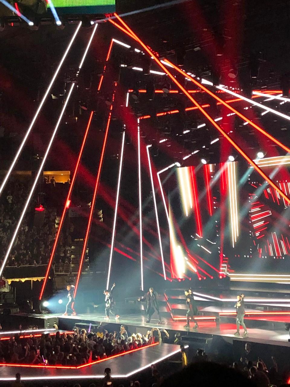 Backstreet Boys Concert 1