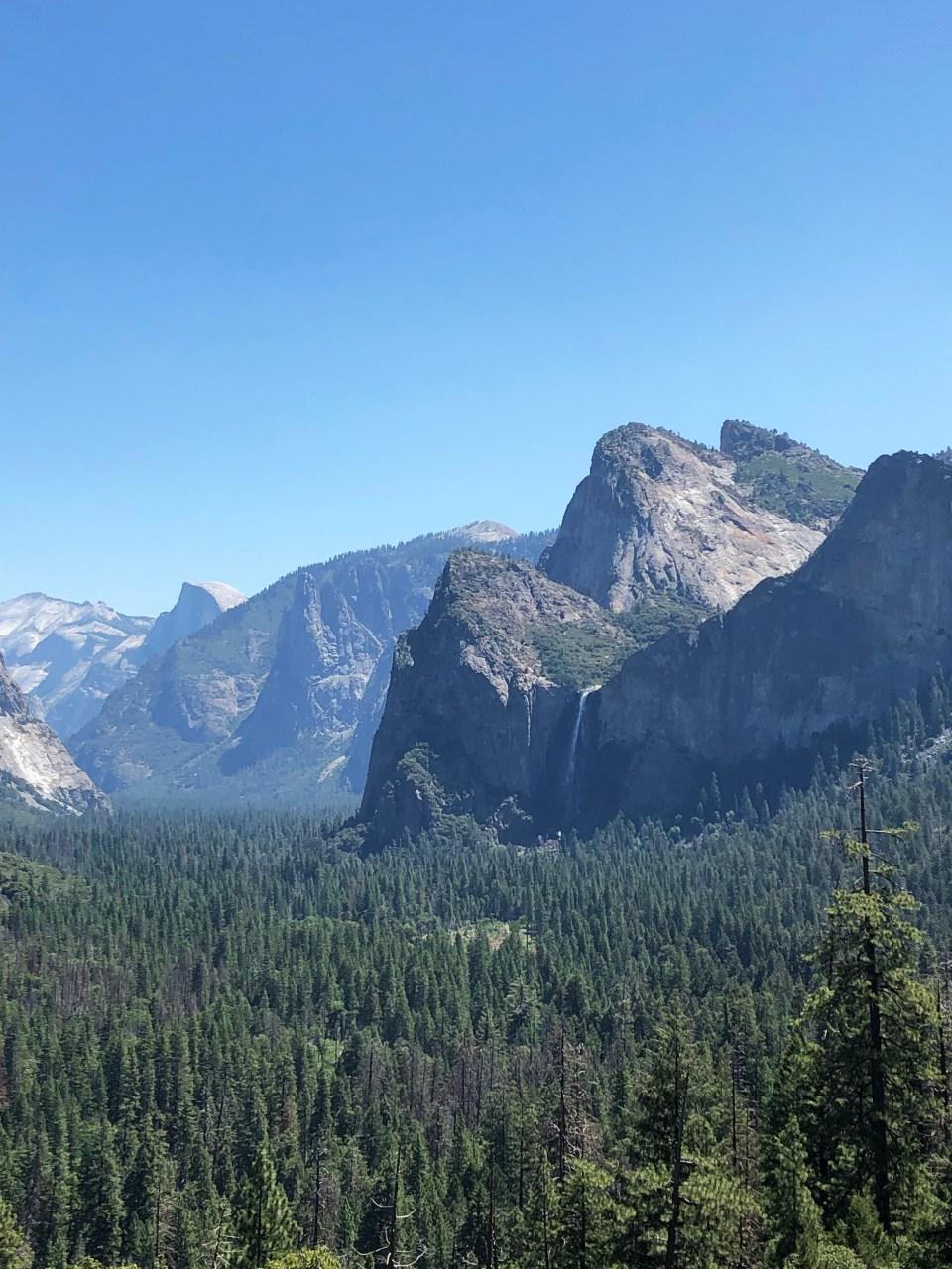 Yosemite National Park - Bridalveil