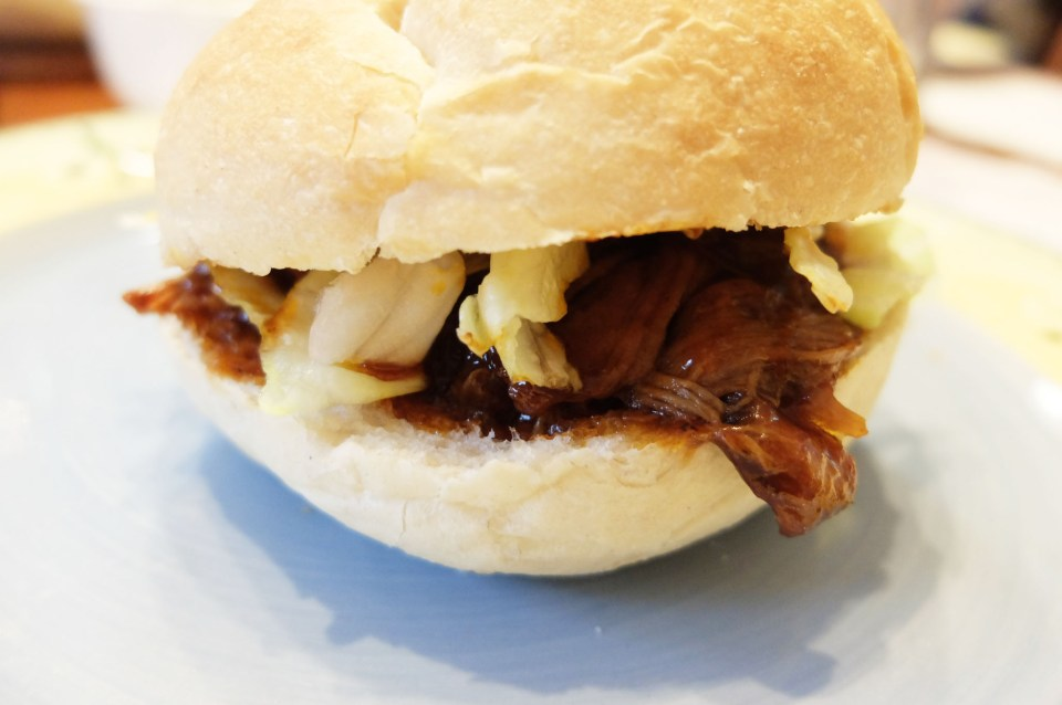 BBQ Pulled Pork Sandwich 11