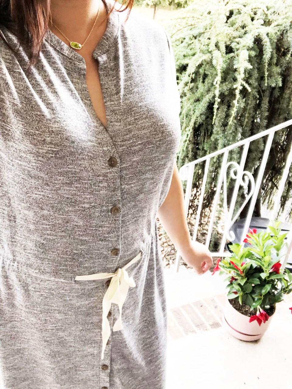 Brushmarl Drawstring Dress 8