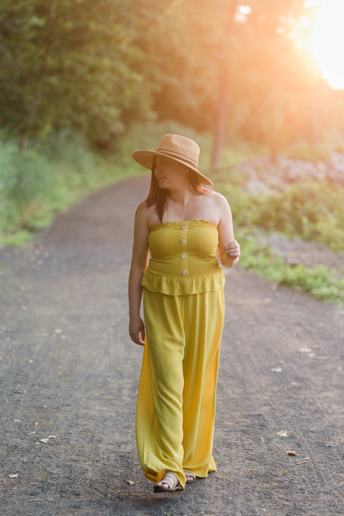 Warm Saffron Jumpsuit