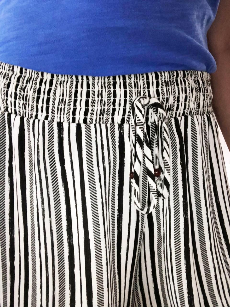 Gauze Striped Shorts 16