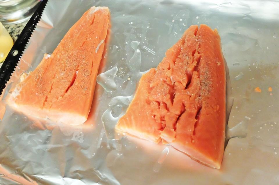 Stuffed Salmon 4