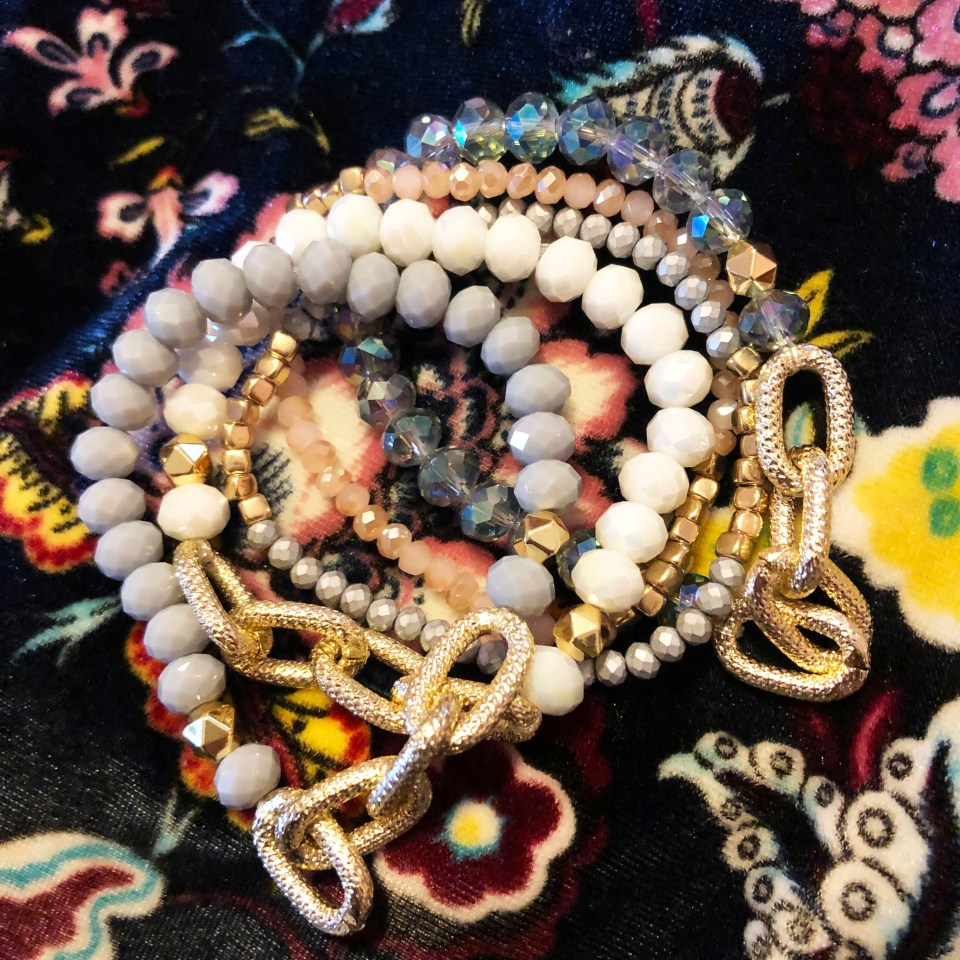 The Styled Collection - Beaded Bracelet Stack 2