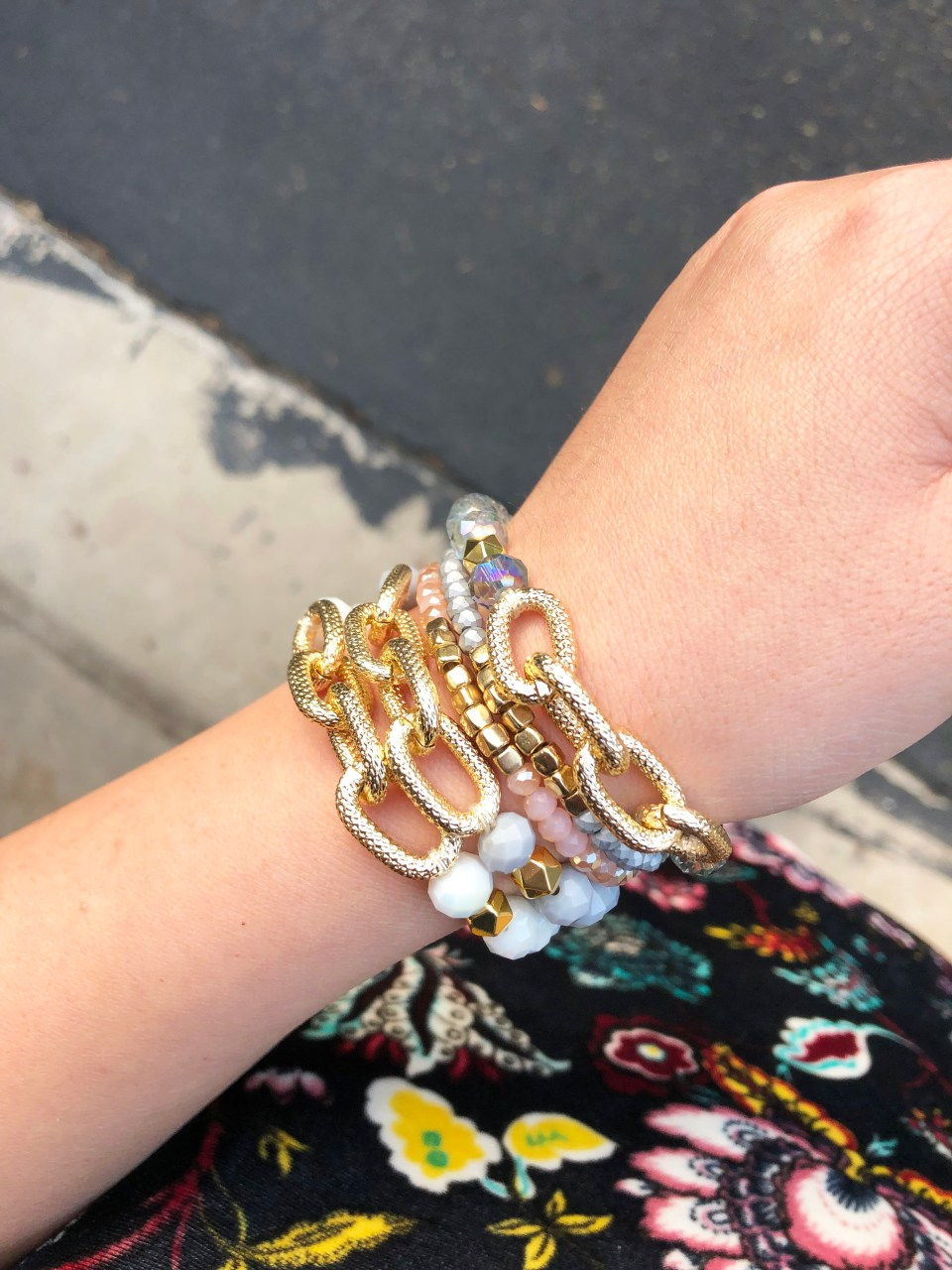 The Styled Collection - Beaded Bracelet Stack 7