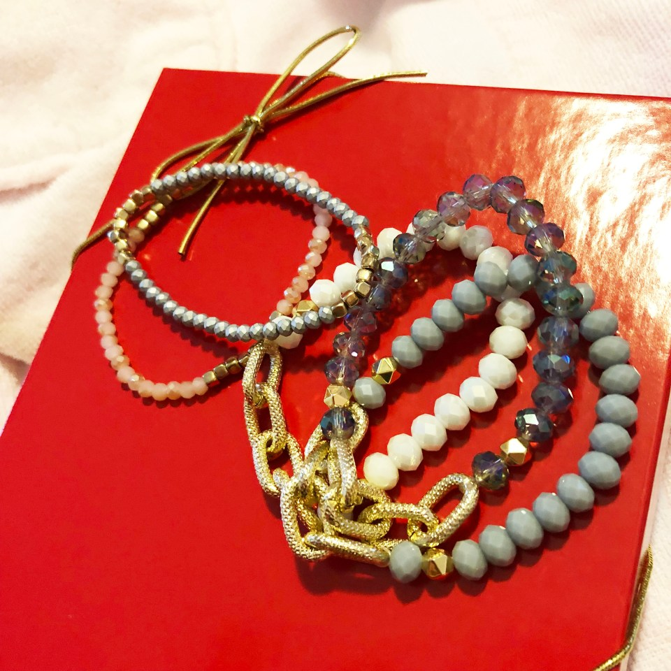 The Styled Collection - Beaded Bracelet Stack
