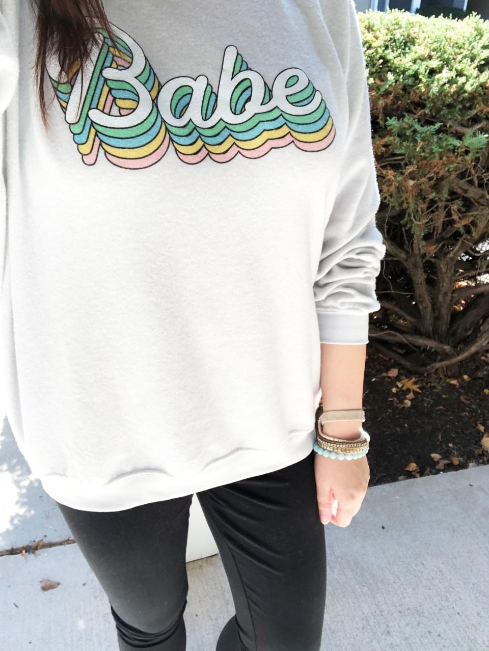 Babe Sweatshirt 19