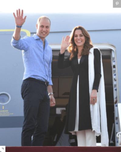 Kate Middleton - Leaving Pakistan