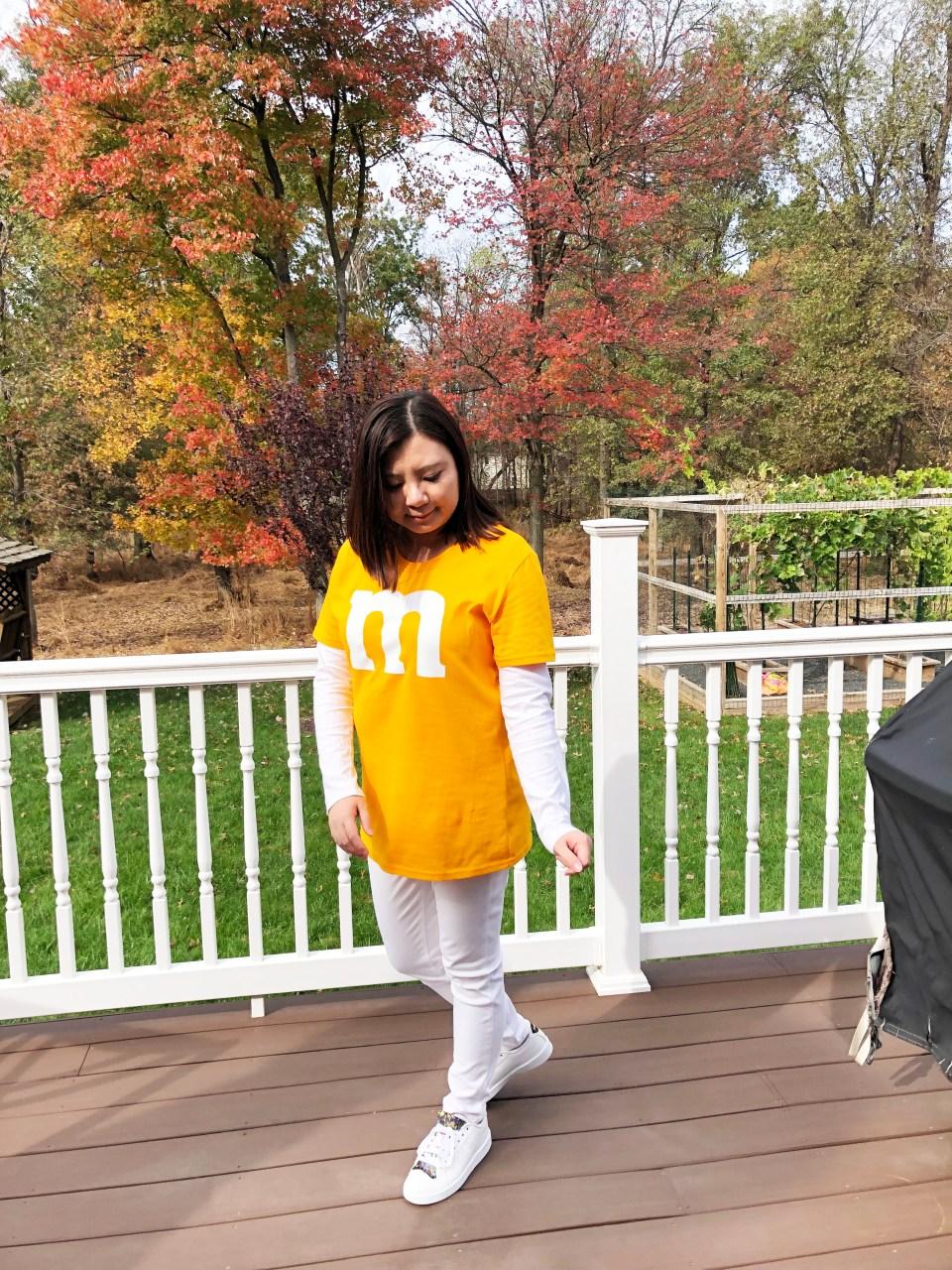 M&M Halloween Costume 1