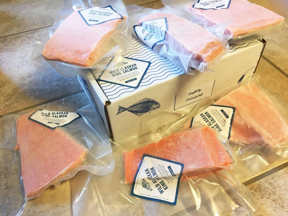 Sitka Salmon Shares - Wild Salmon King Salmon