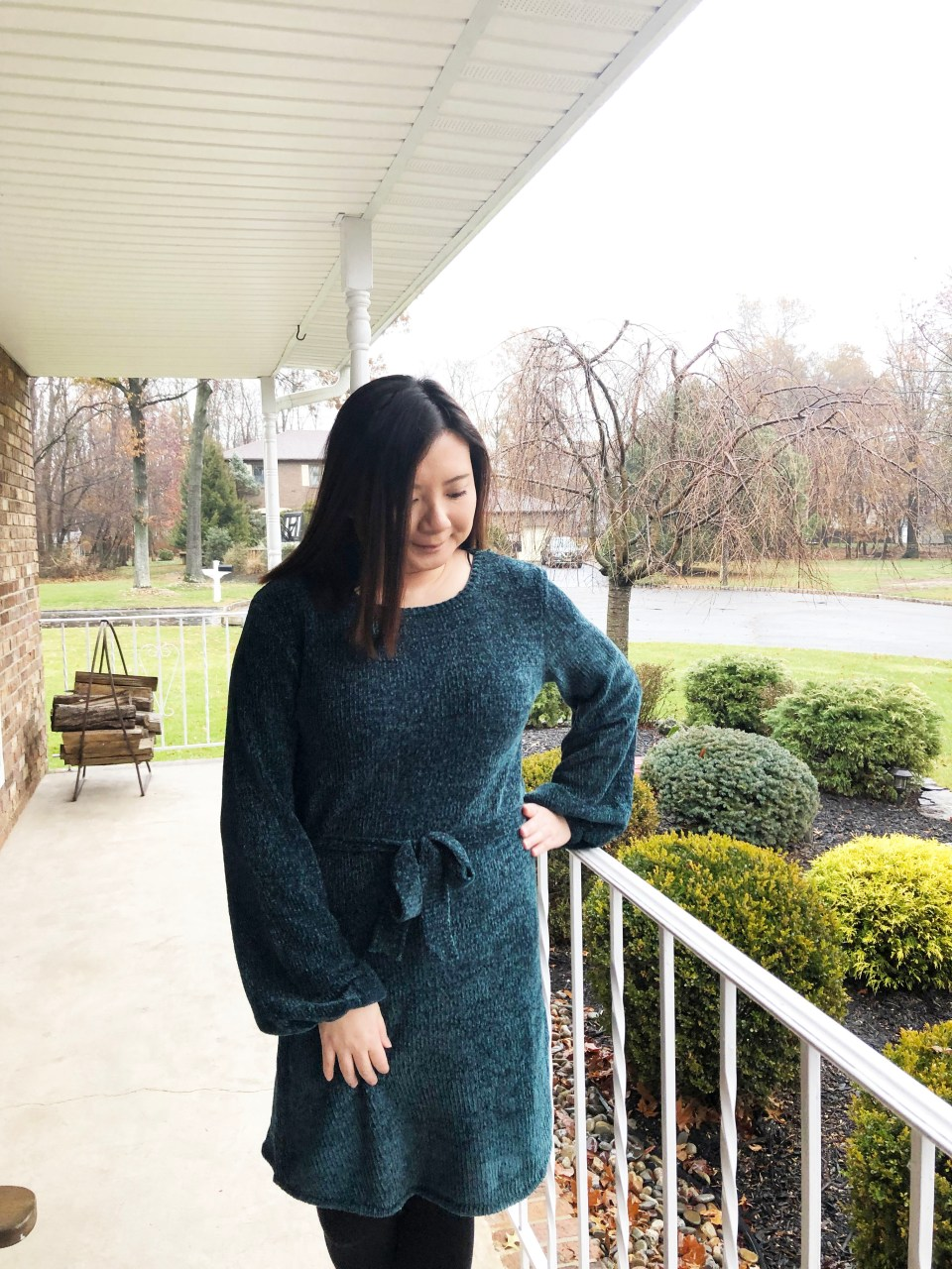 Chenille Sweater Dress 8