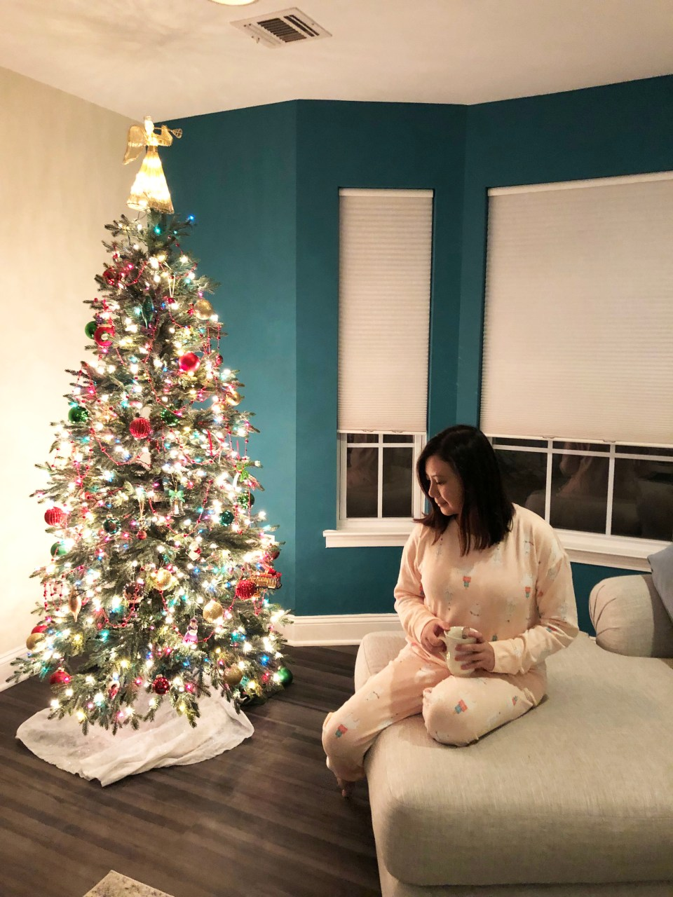 Holiday Polar Bear Pajama Set 1