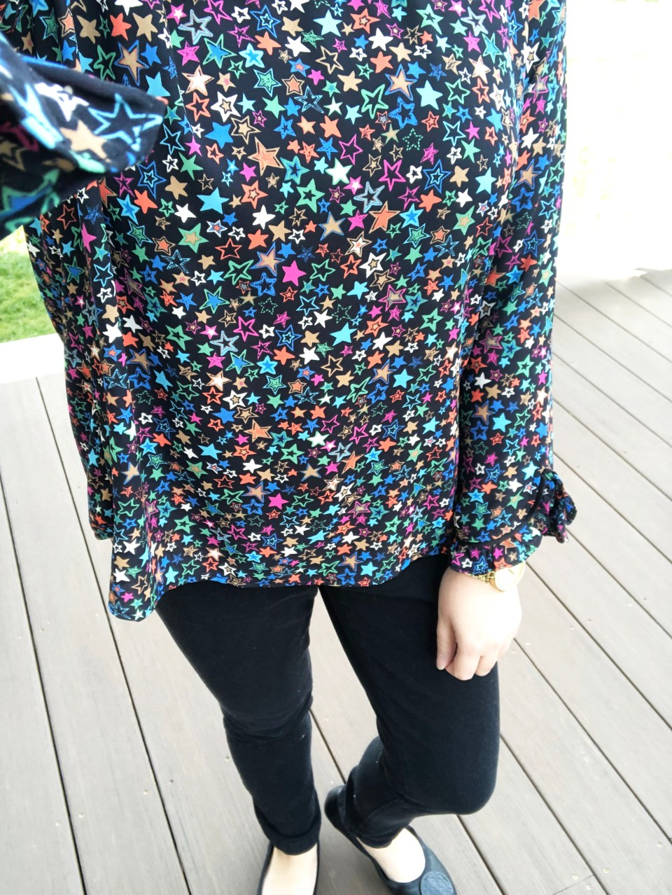 Multicolor Star Blouse 17
