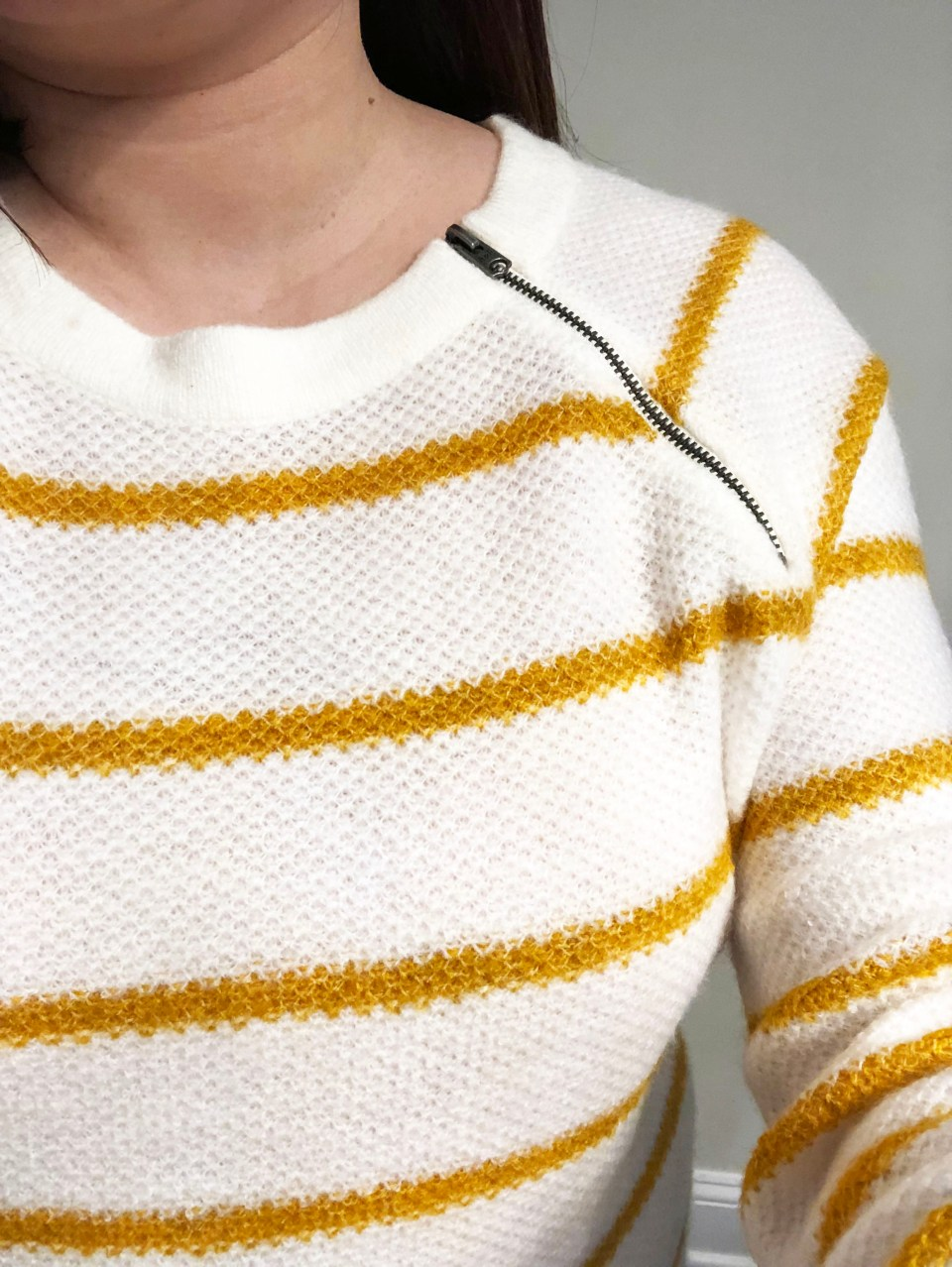 Mustard Stripe Sweater 4