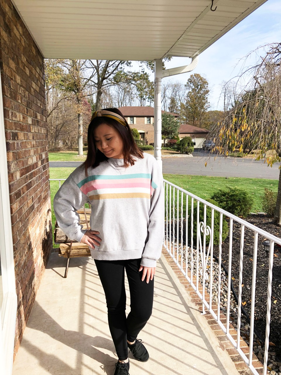 Pastel Striped Sweatshirt 10