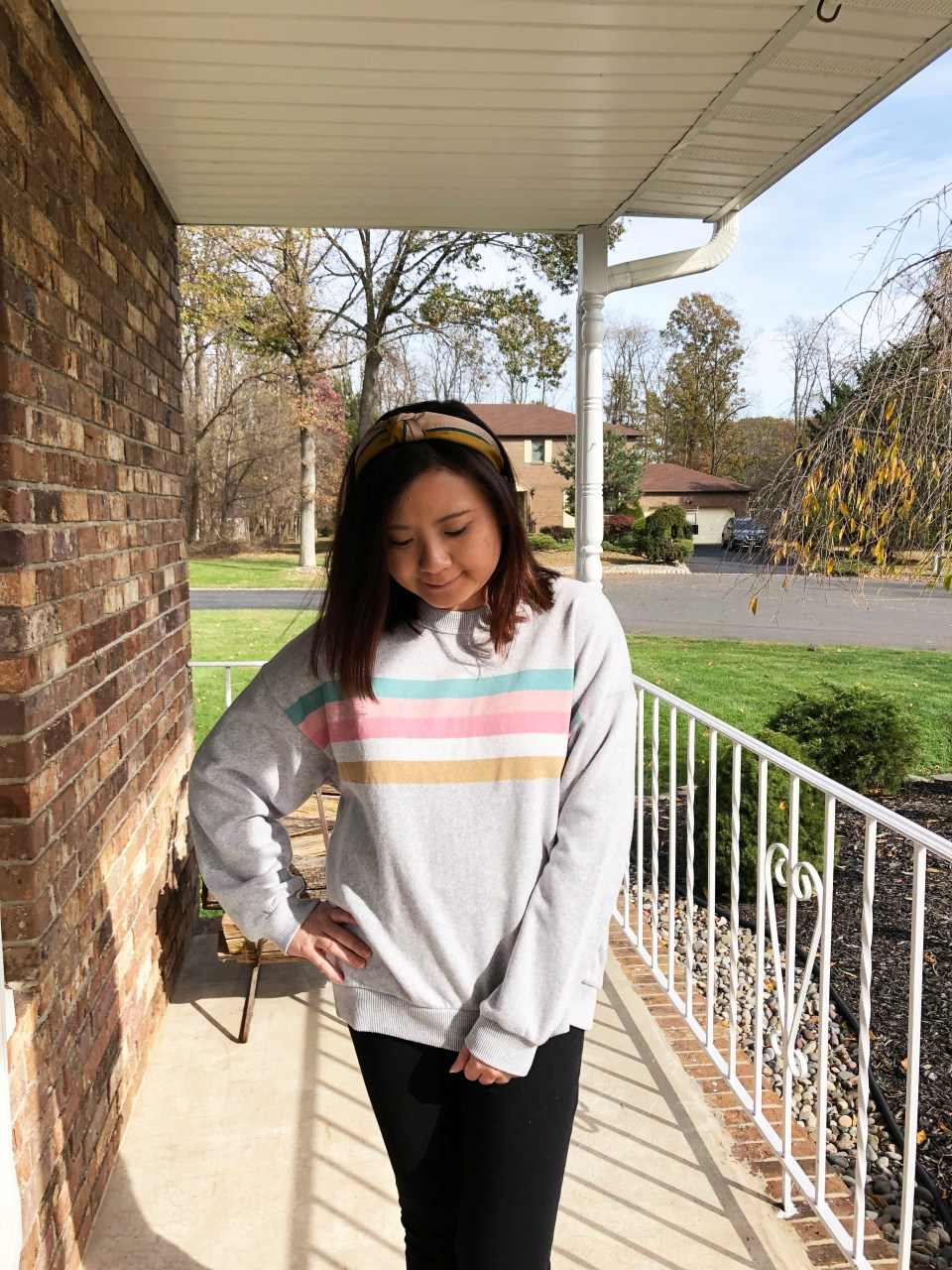 Pastel Striped Sweatshirt 11