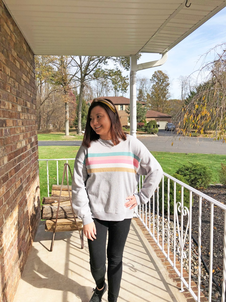 Pastel Striped Sweatshirt 14