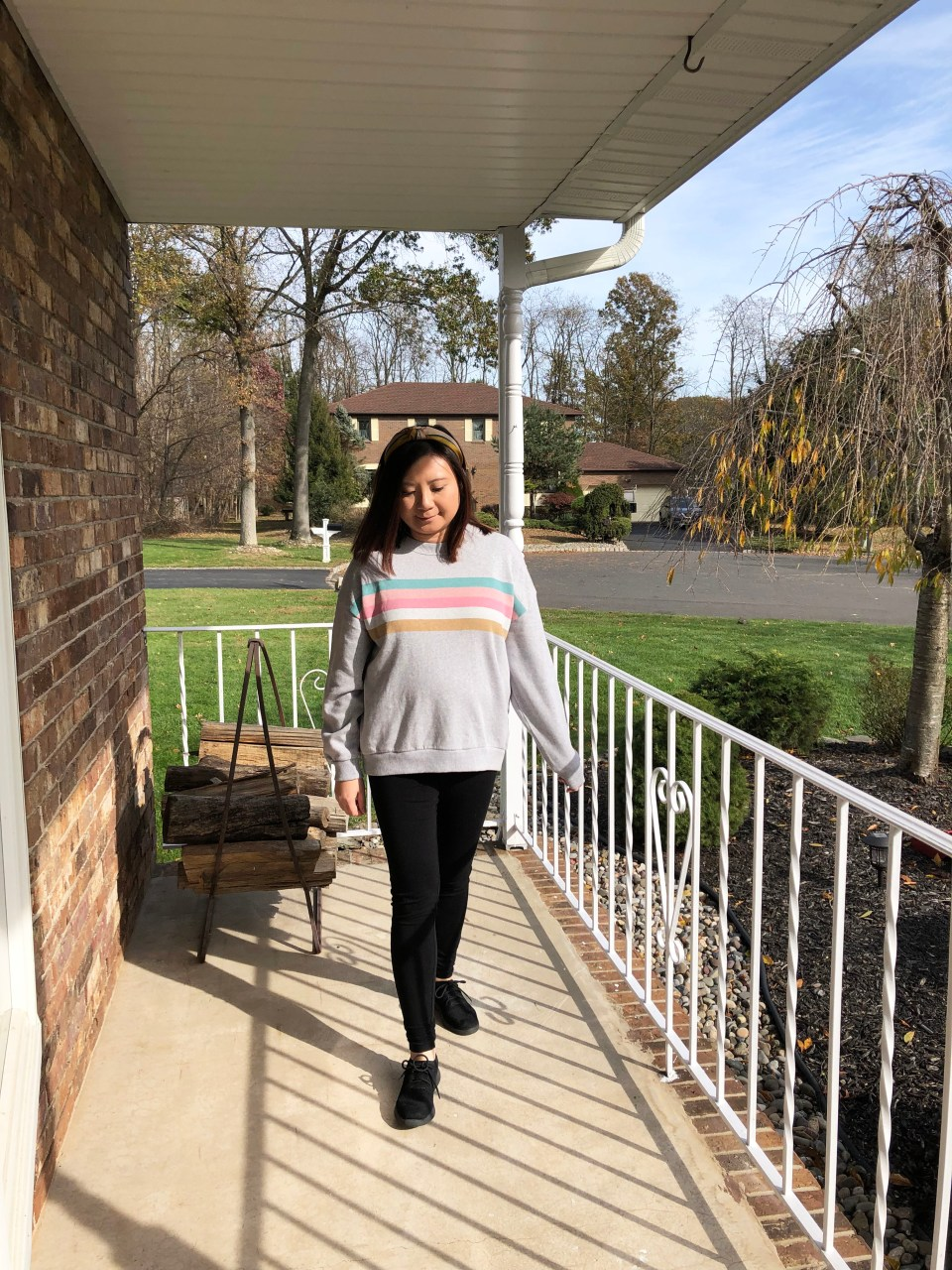 Pastel Striped Sweatshirt 7