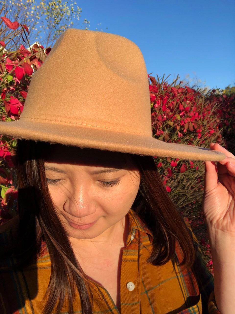 Wide Brim Hat 8