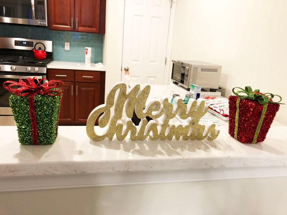 Glittery Christmas Decor 2