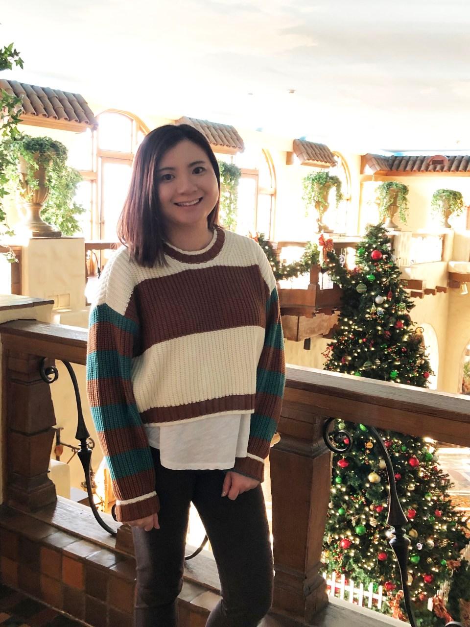 Mixed Stripe Boxy Sweater 14
