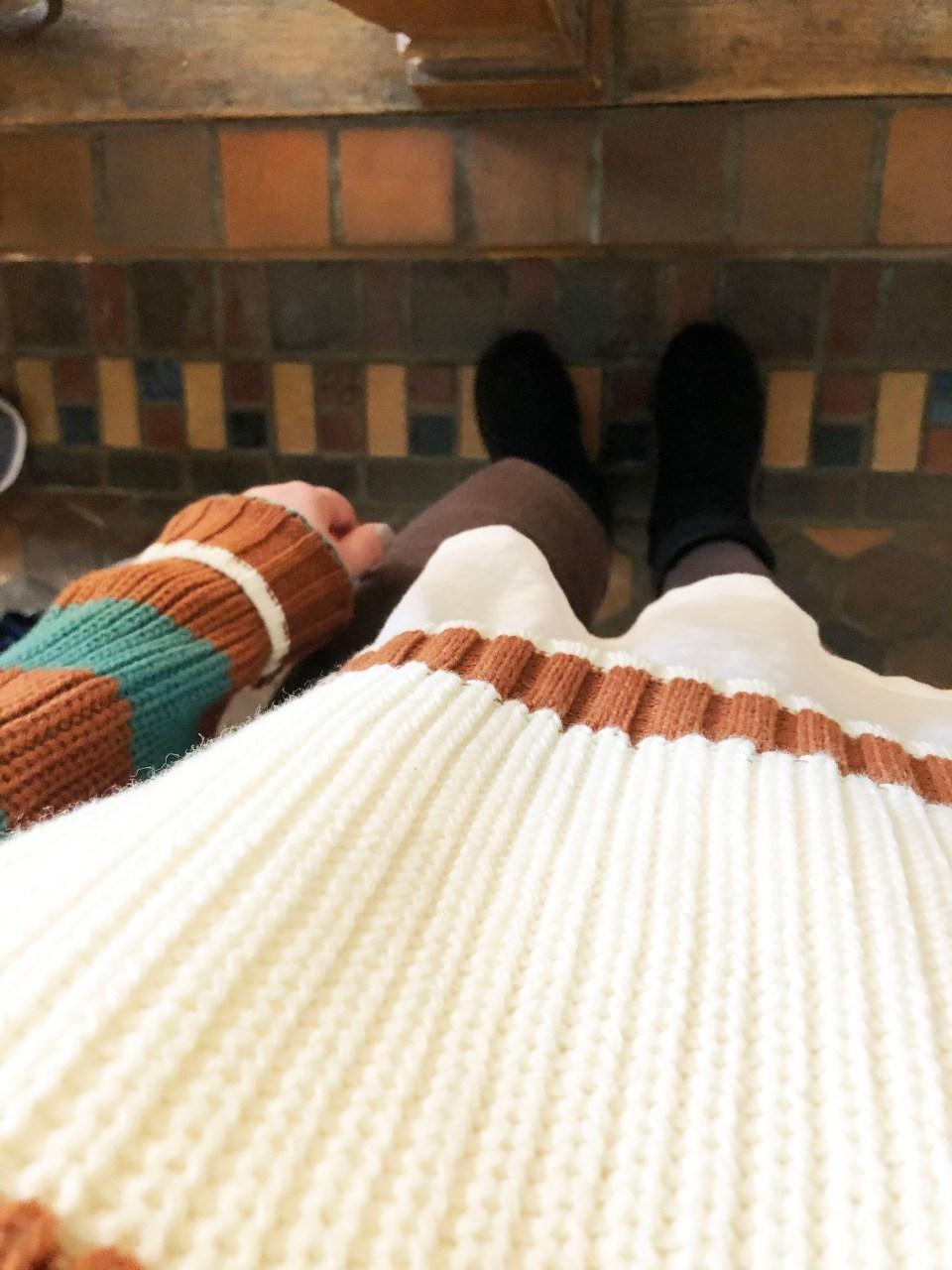 Mixed Stripe Boxy Sweater 16