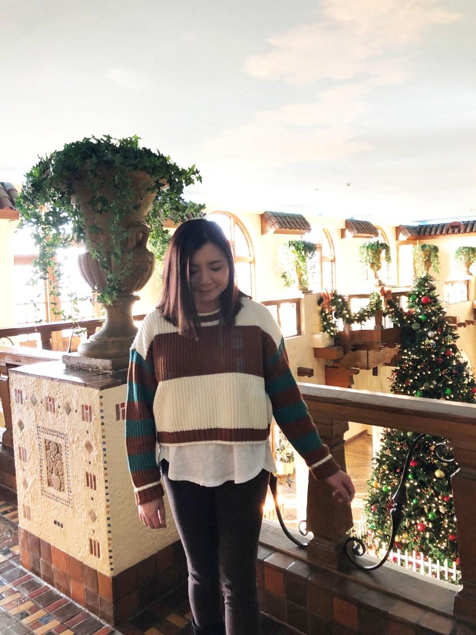 Mixed Stripe Boxy Sweater 4