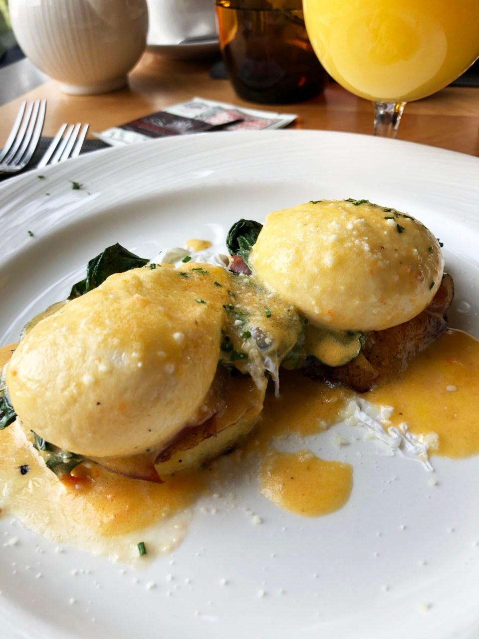 The Circular - Italian Eggs Benedict