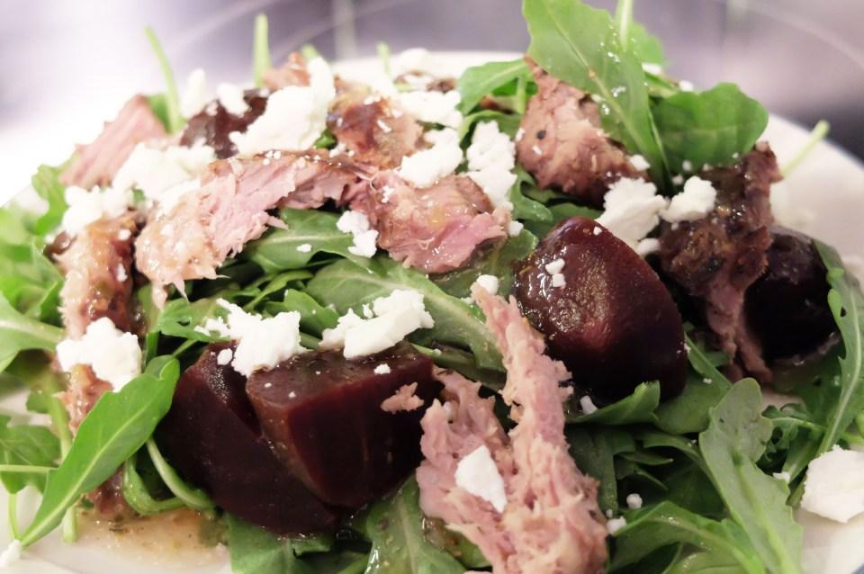 Greek Steak Salad 1