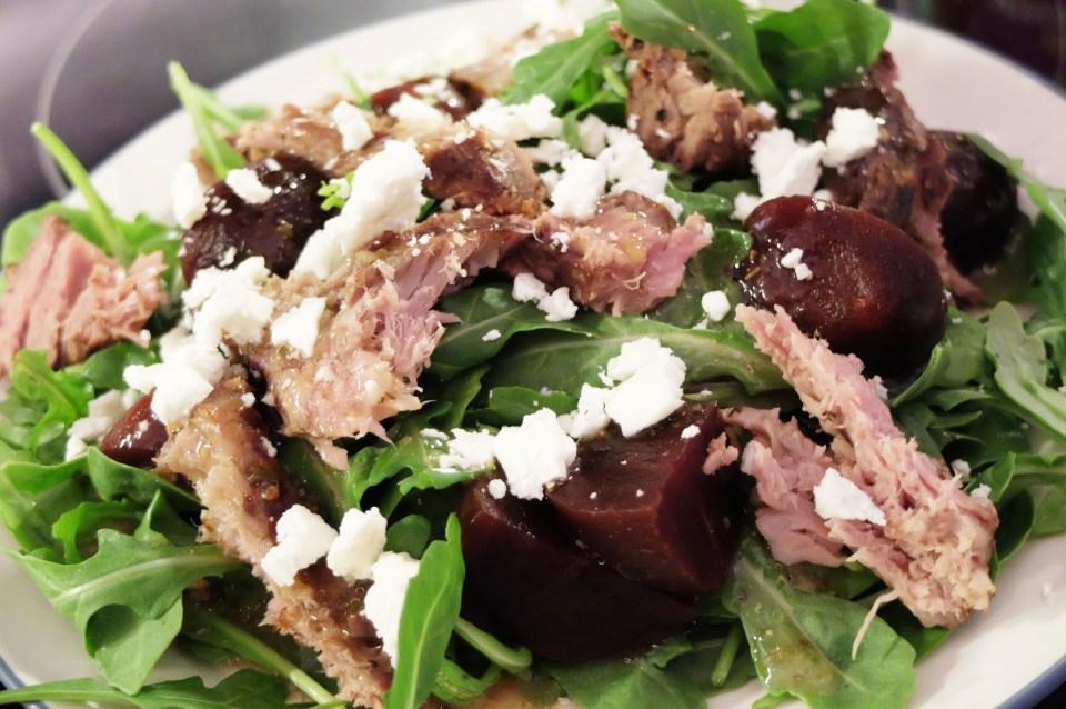 Greek Steak Salad 2