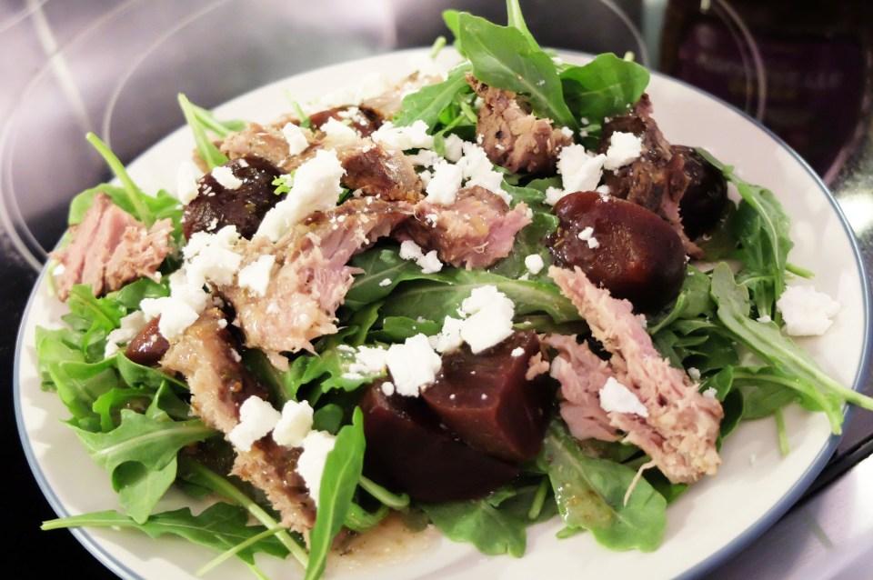 Greek Steak Salad 3