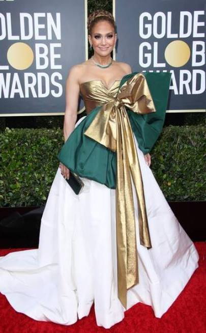 Jennifer Lopez - Golden Globes 2020