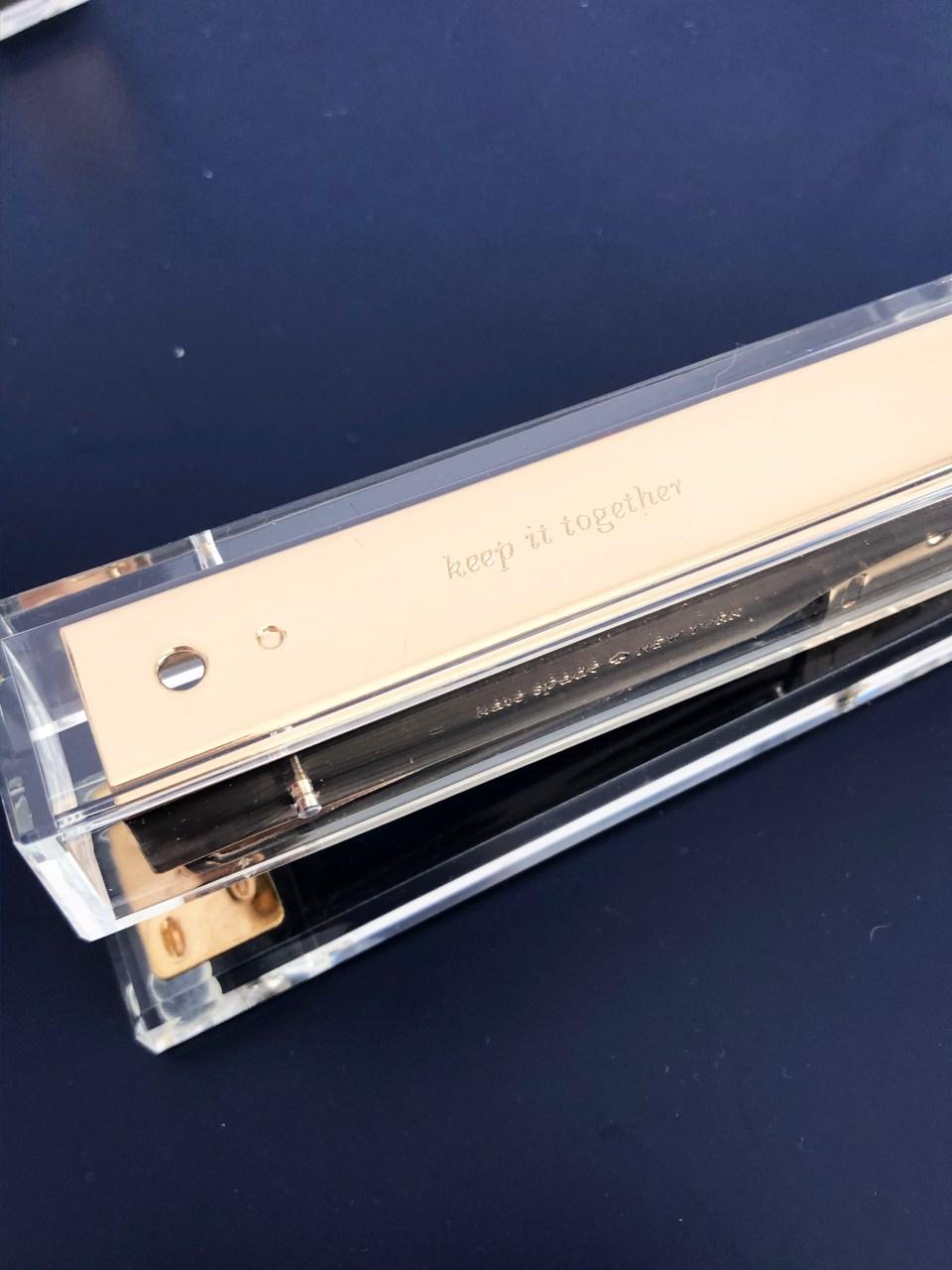 Kate Spade Acrylic Stapler 1