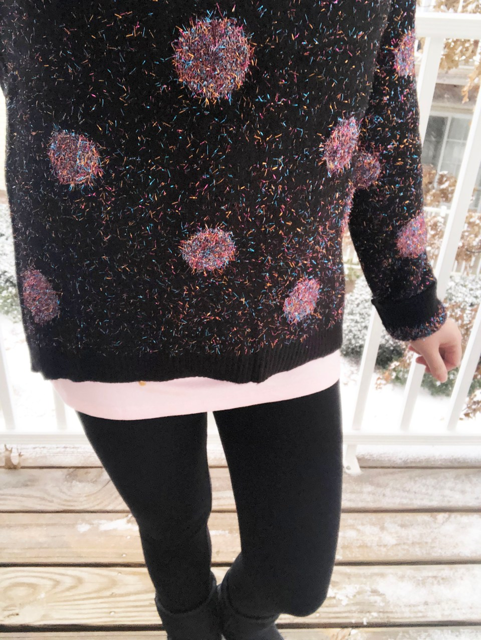Sparkle Dot Sweater 13