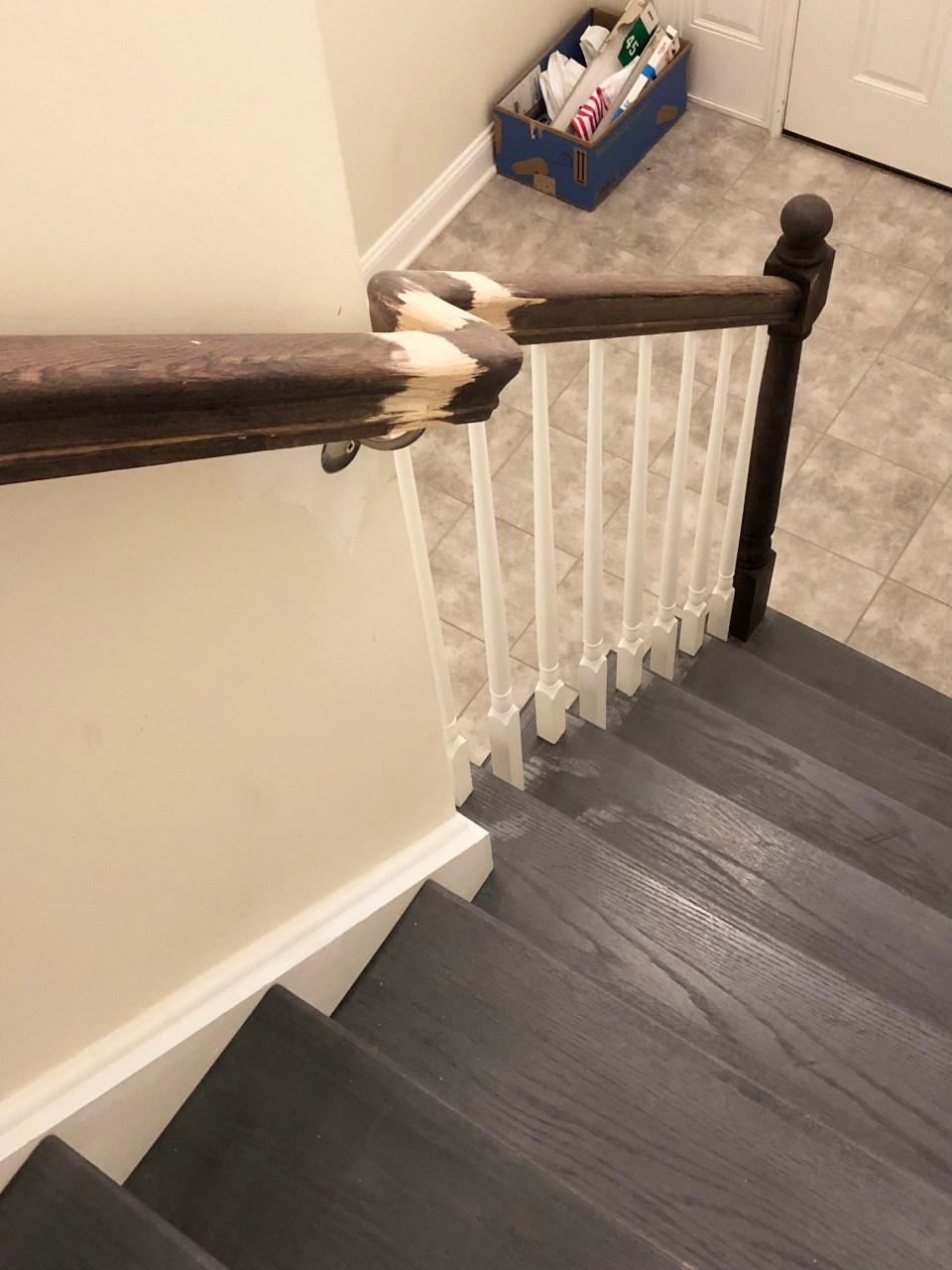 Foyer - Stairs Update 21